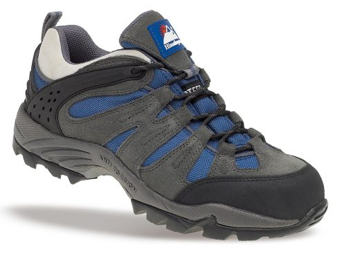 HIMALAYAN Ladies Dark Grey Ladies Trainer with Metal Free Cap and Midsole with Gravity Sole