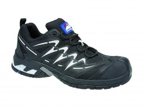 HIMALAYAN Black Gravity Sport Trainer with Metal Free Cap and Midsole