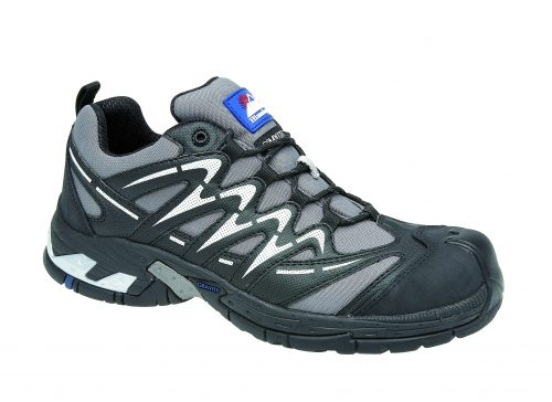 HIMALAYAN Grey Gravity Sport Trainer with Metal Free Cap and Midsole