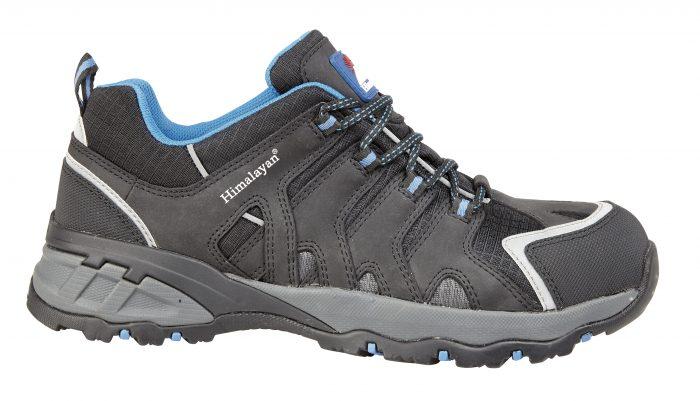 HIMALAYAN Black Himalaya EVA Rubber Safety Shoe