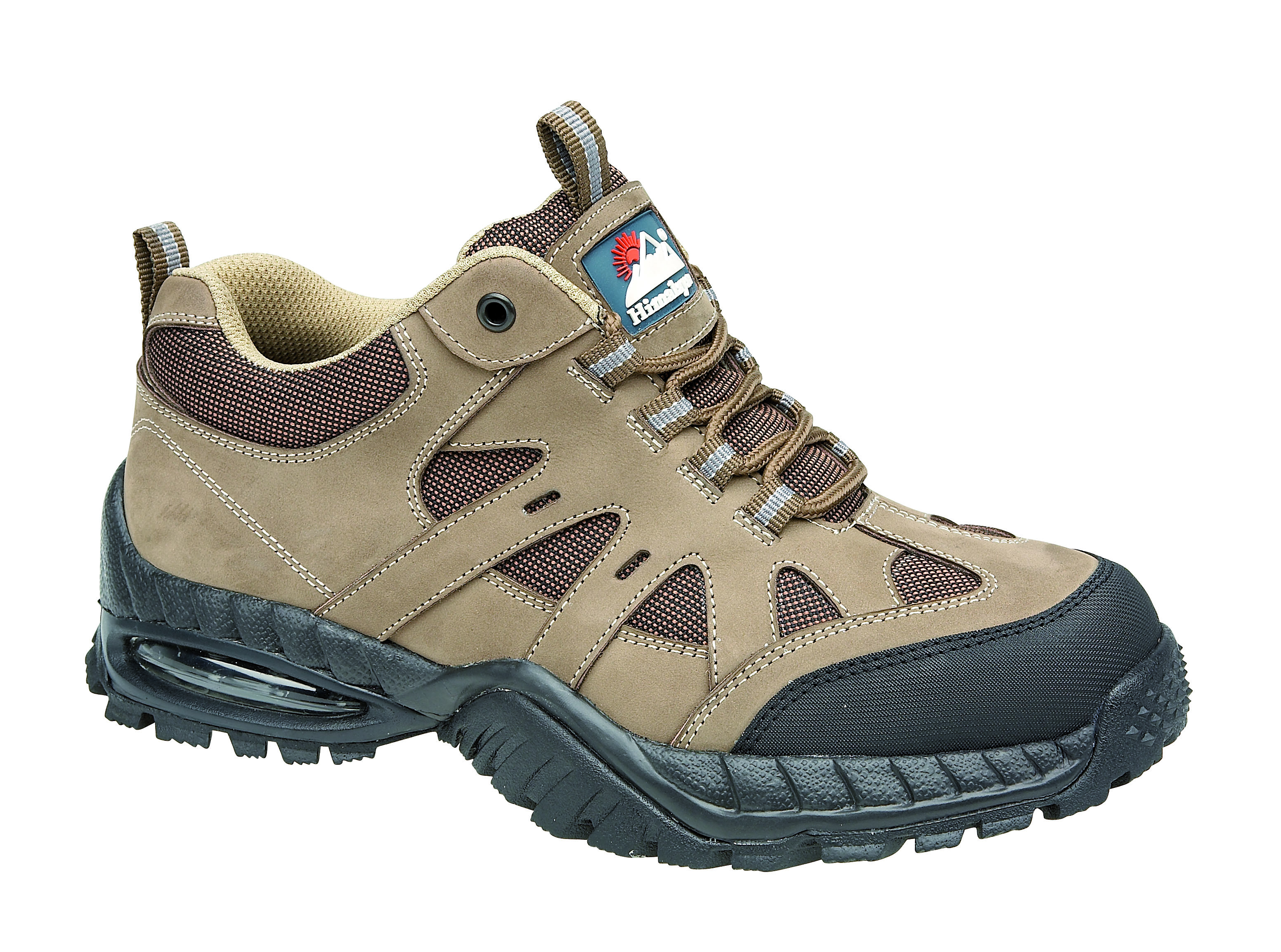 HIMALAYAN 4042 SBP wheat nubuck air-bubble safety trainer with midsole size 3-13