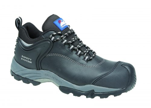 HIMALAYAN Black Waxy Fully Waterproof Shoe Metal Free Cap/Midsole Gravity 2 Sole