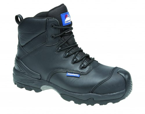 HIMALAYAN Black Leather Waterproof Boot Metal Free Cap/Midsole Gravity 2 Sole