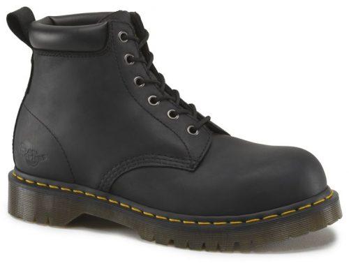 DR MARTENS Forge ST Black 6 Eye Boot