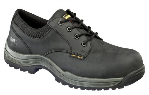 DR MARTENS Hawk Black S3 Non Metallic 4 Eye Shoe