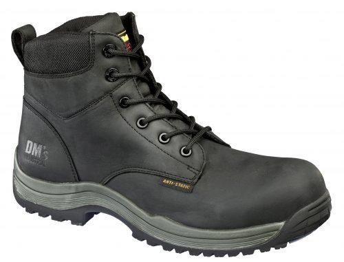 DR MARTENS Falcon Black S3 Non Metallic 6 Eye Boot