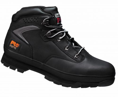 Timberland PRO Eurohiker Black Boot with Steel Midsole