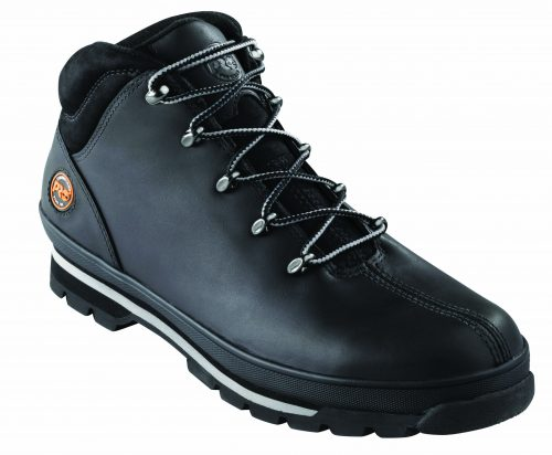 Timberland PRO Black Splitrock Boot wth Steel Midsole