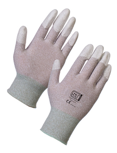 Antistatic Gloves – PU Fingertips