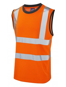 Ashford - Class 2 - Comfort Vest- Hi-Vis Orange
