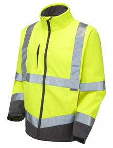 Buckland - Soft Shell Jacket - Yellow