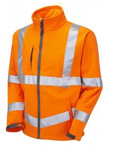 Buckland - Soft Shell Jacket - Orange