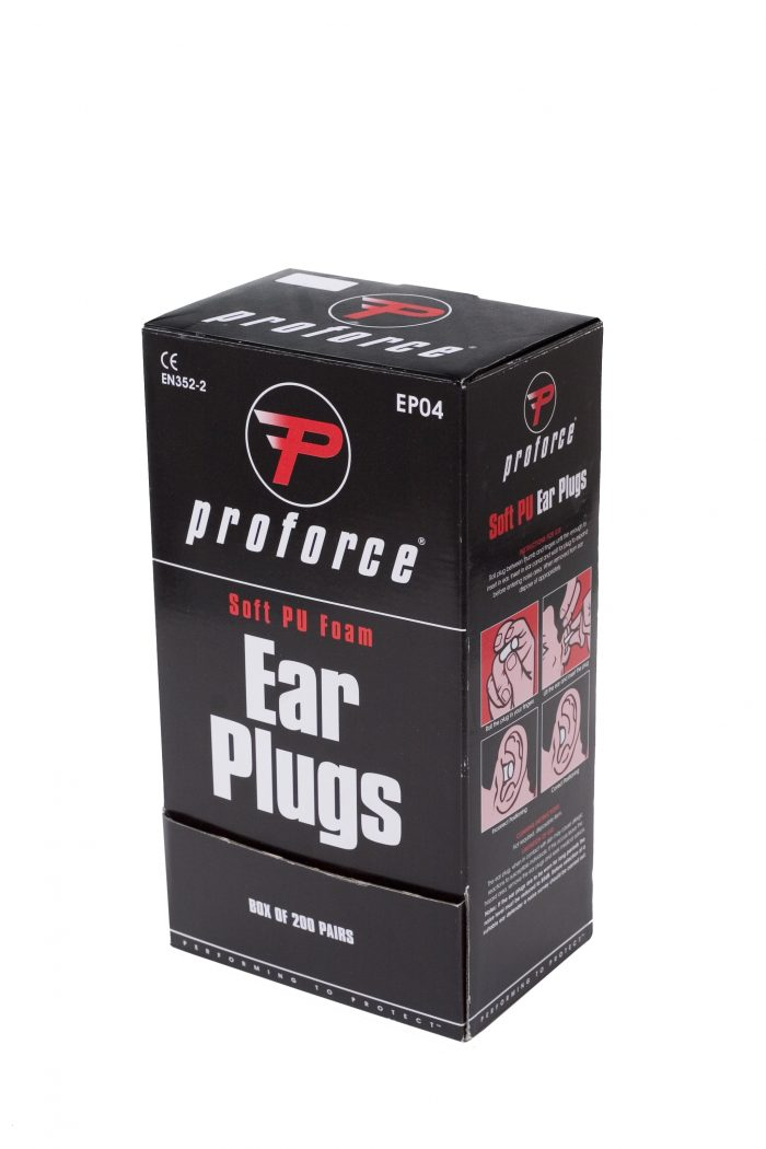 Proforce Hearing Protection Ear Plugs - Box of 200