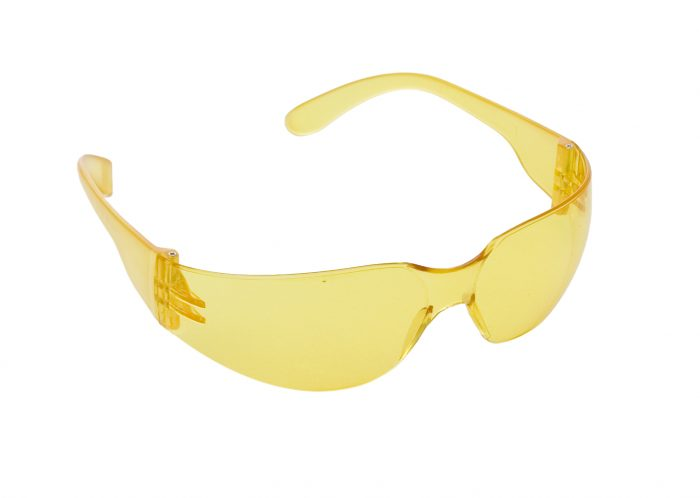 Proforce Eye & Face Protection Yellow Safety Sports Spectacles