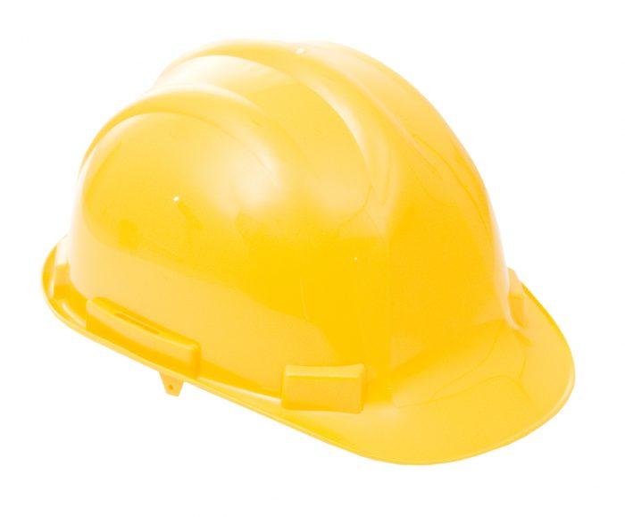 Proforce Head Protection Yellow Premium Helmet