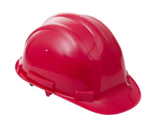 Proforce Head Protection Red Comfort Helmet