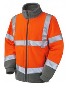 HARTLAND - Class 3 Fleece Jacket - Orange