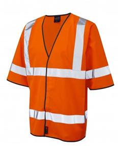 Gorwell - Half Sleeve Waistcoat - Hi Vis Orange